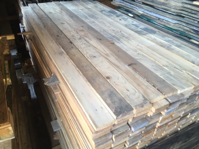 Sloophouten planken 22x95mm