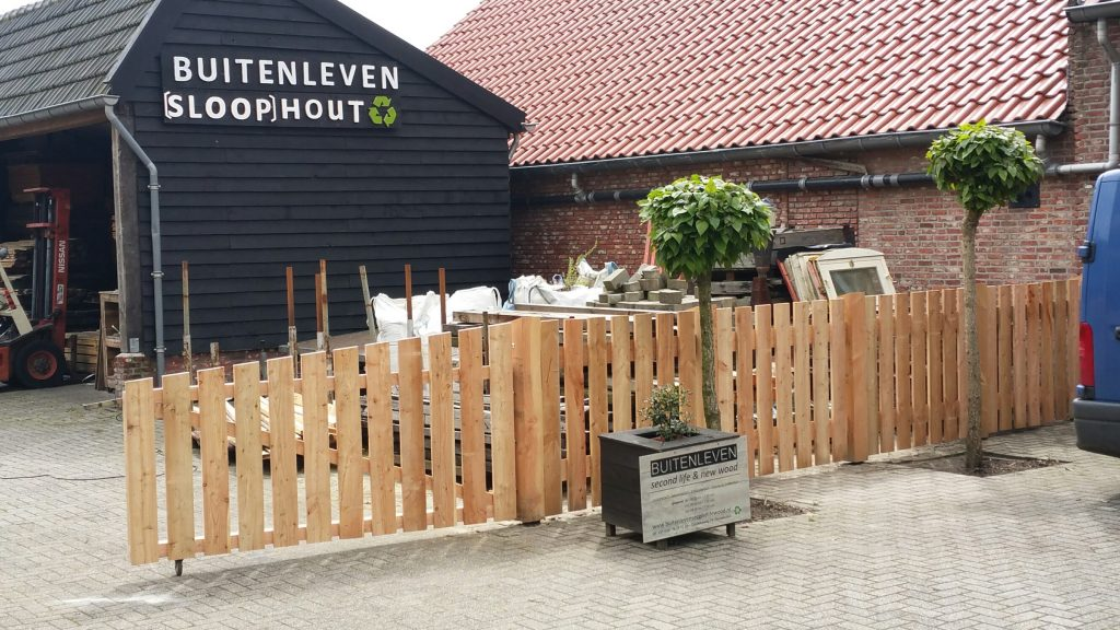 Buitenleven Roosendaal Douglas poort